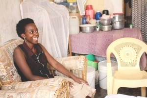 Zoe is training women in financial literacy and is starting savings circles among women in her community